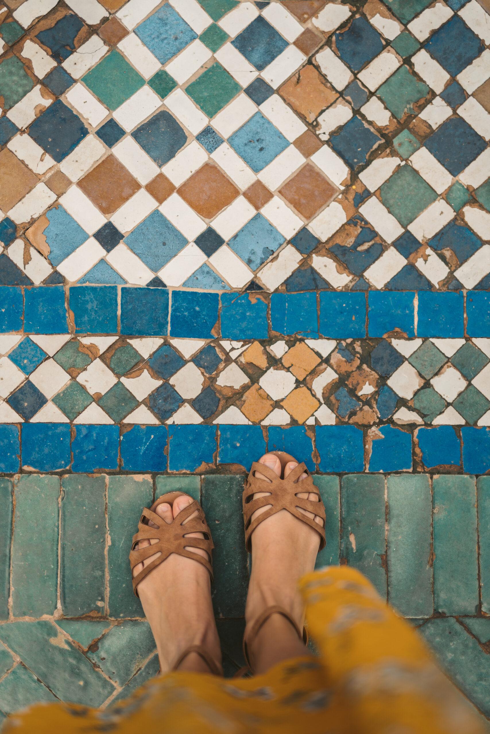 Natuursteen vloertegels, tegels met een bijzonder karakter
